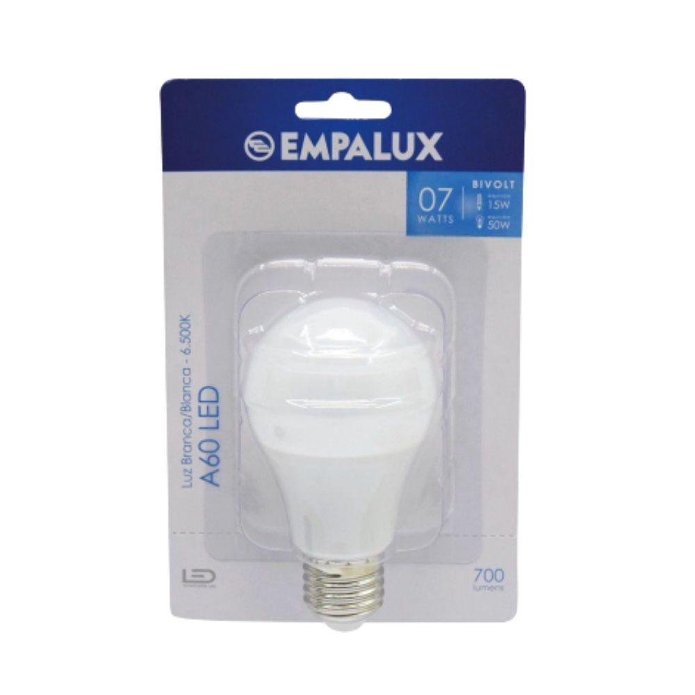 Lampada Bulbo Led Bivolt Br 7W Empalux Al07562