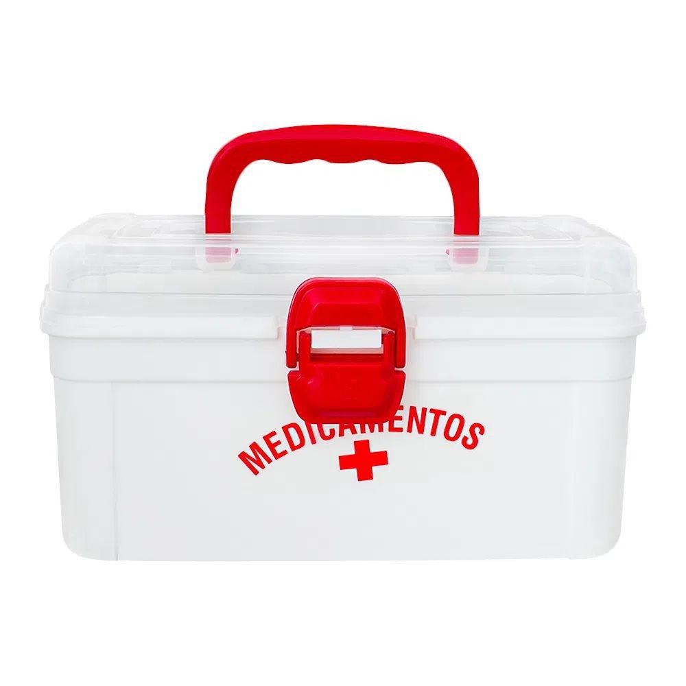 Maleta Caixa Organizadora Medicamento Nitron 137