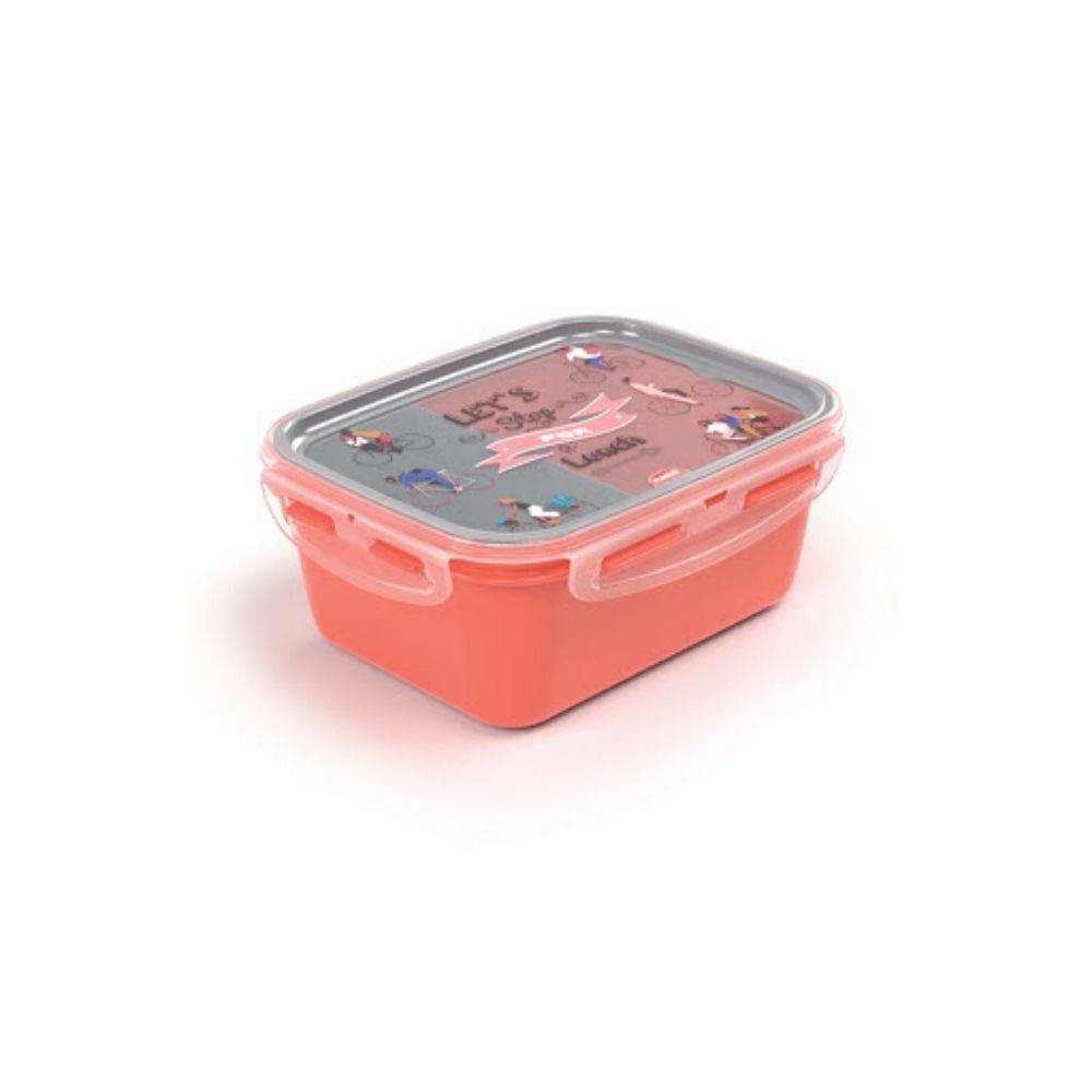 Marmita Com Trava Compartimento Decorada Plasutil 007879