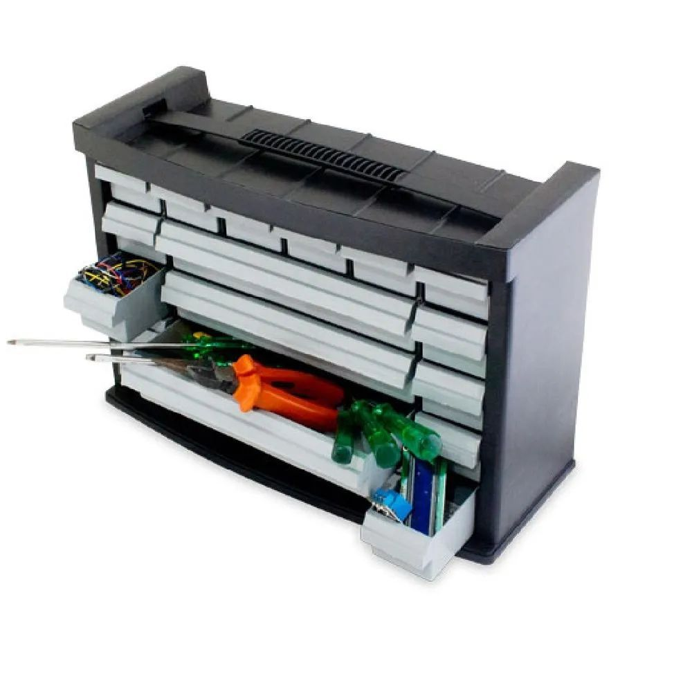 Organizador Arqplast Preto 4.20X1.70X2.85 7020 25403