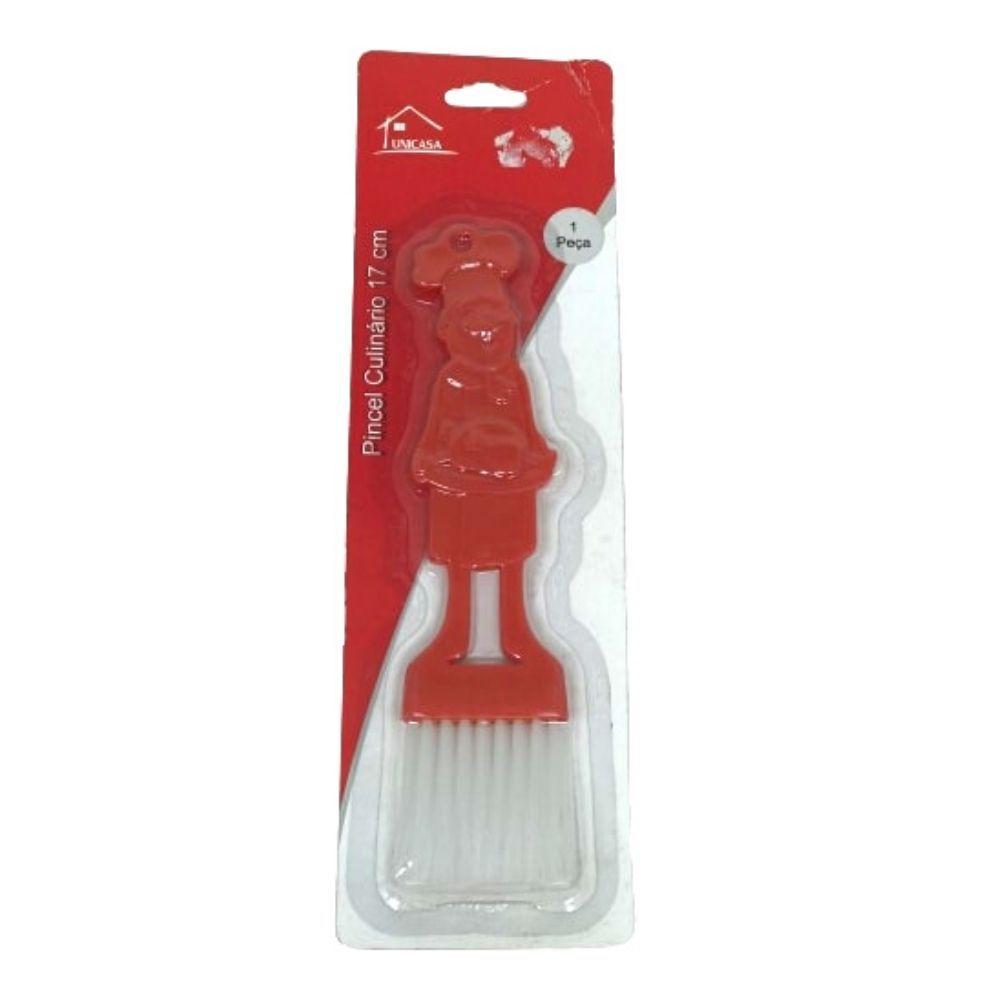 Pincel Unicasa Culinario Plast Color Hc9110338