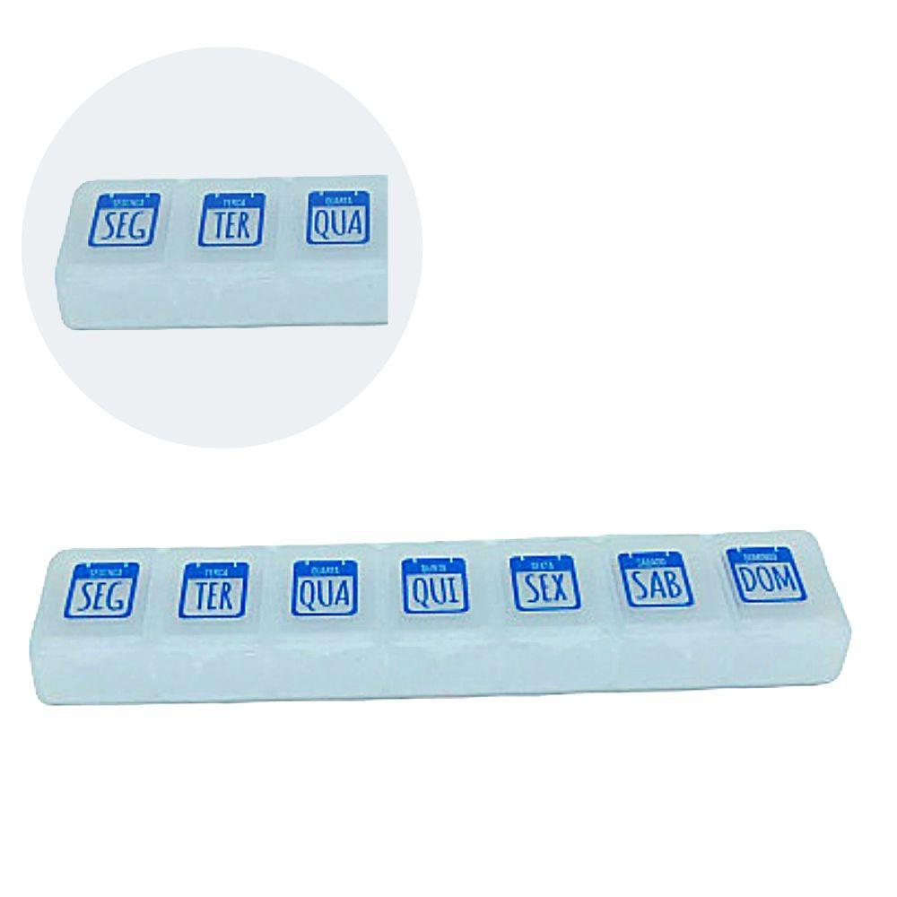 Porta Comprimido Plastico Smart Doutor Multiart Med-02