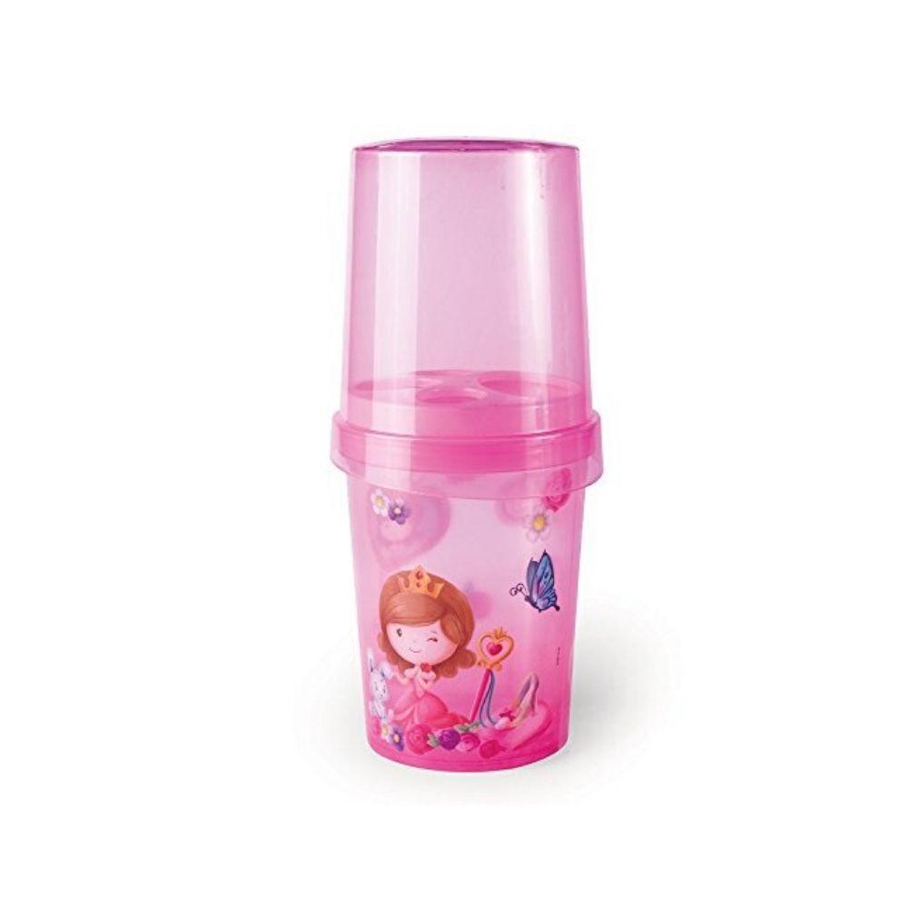 Porta Escova Decorado Baby Princess Plasutil 7061