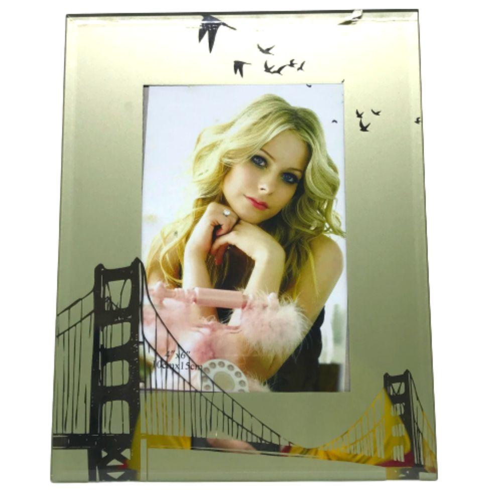 Porta Retrato Espelhado 10 X 15 Cm Importado