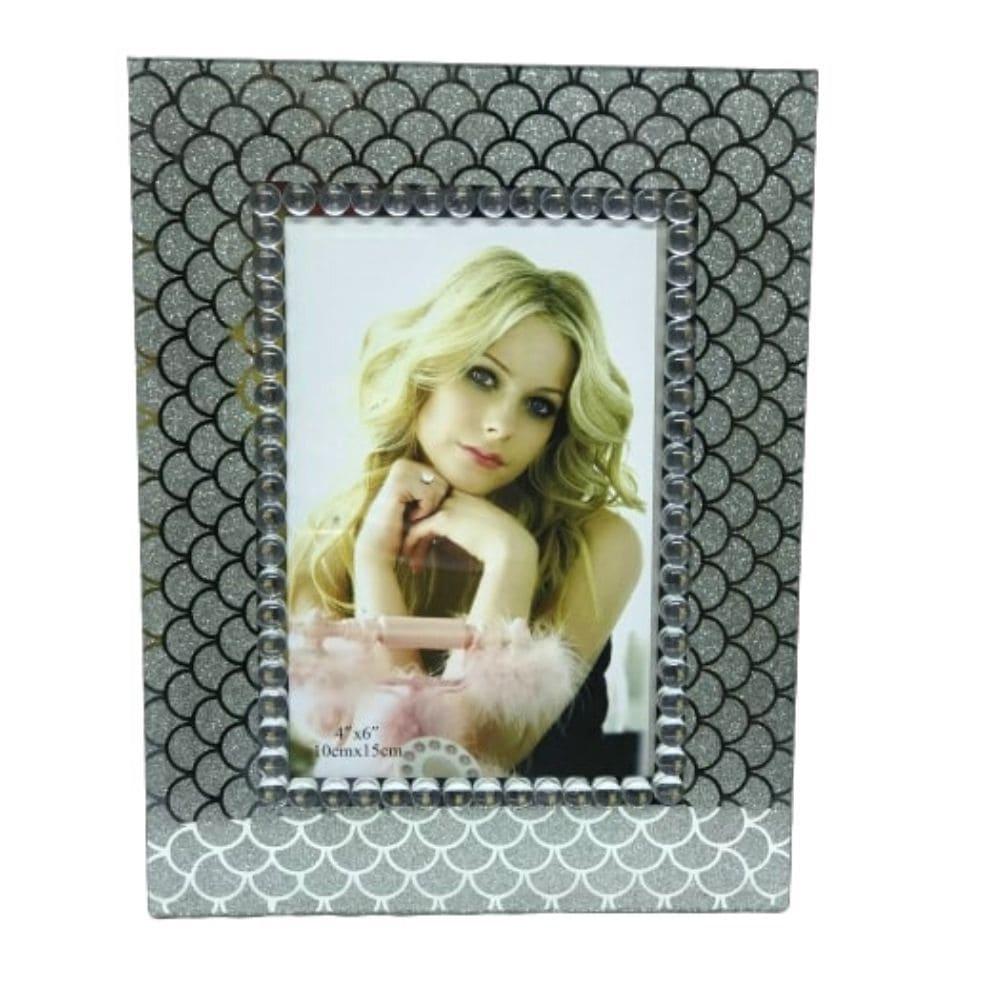 Porta Retrato Importado Vidro Estampas 10 X 15 Cm
