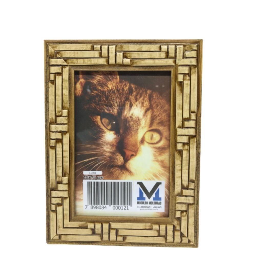 Porta Retrato Molduleo Luxo 10X15Cm