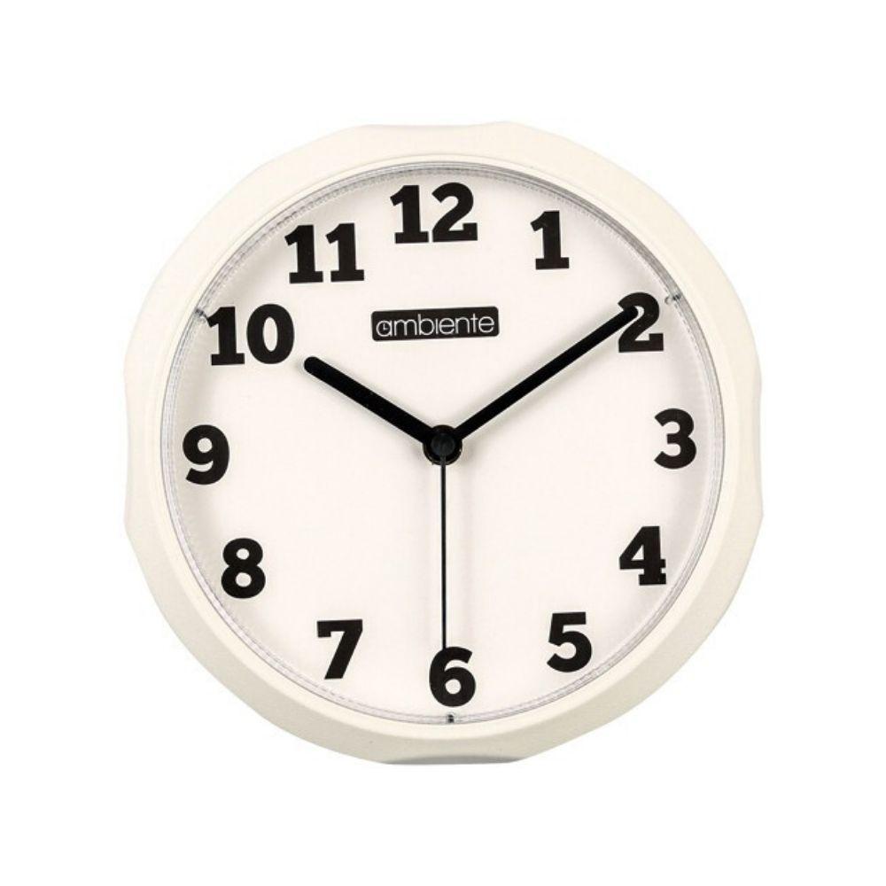 Relógio Parede Redondo Borda Branca 191300-021 Ambiente