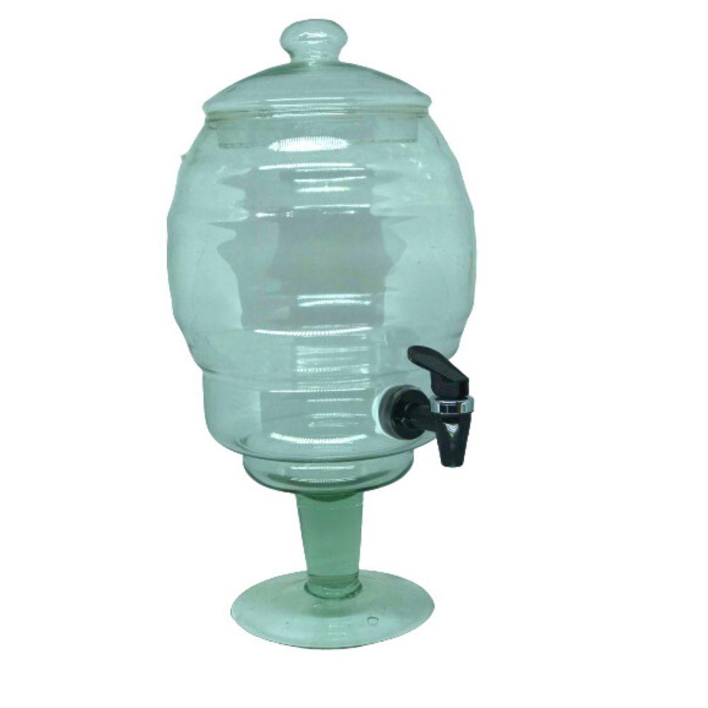 Suqueira Transparente 5 L Vidro Luz 803
