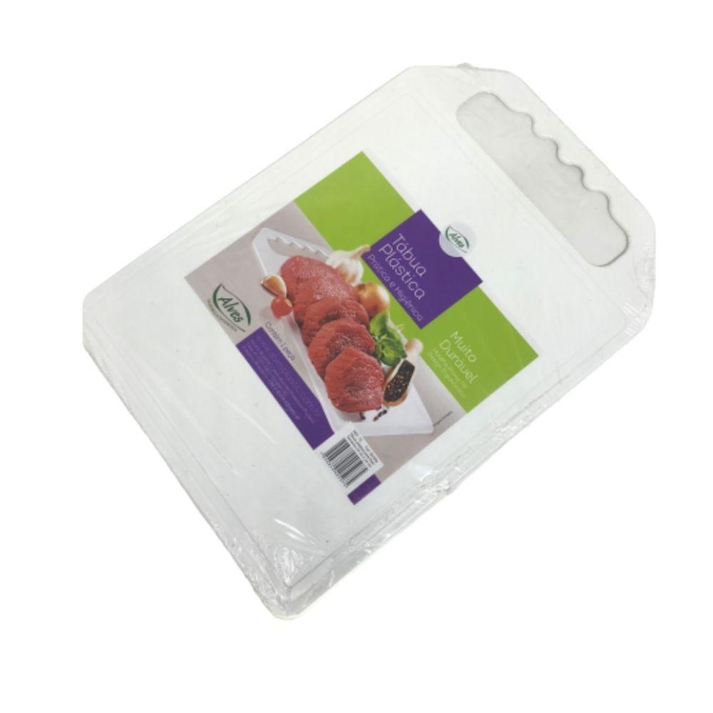 Tabua Corte Frios Plástico Lisa 24X34Cm Alves 12