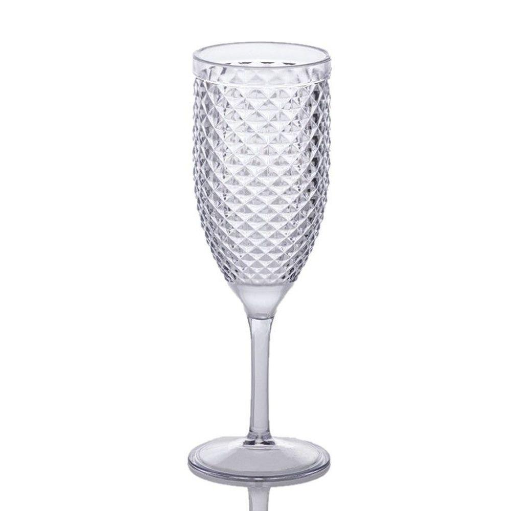 Taça Paramount Luxxor Champagne Acrilico 350Ml 1148