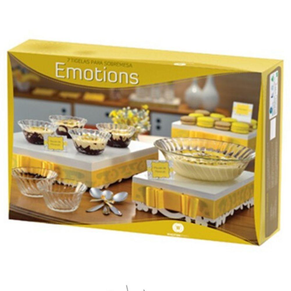 Tigela Emotions 7 Peças Wheaton 0042