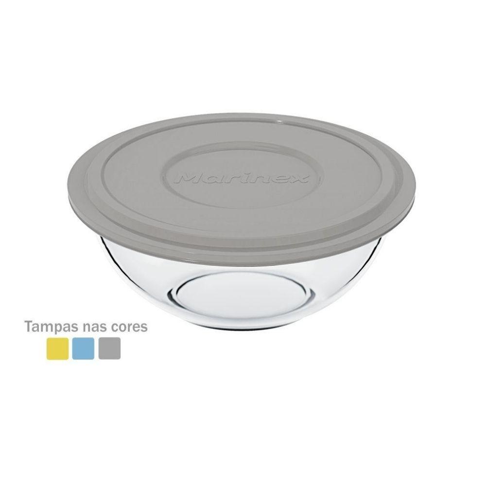 Tigela Marinex Plus Tampa Colorida 1.5 Litros Sm400030633N