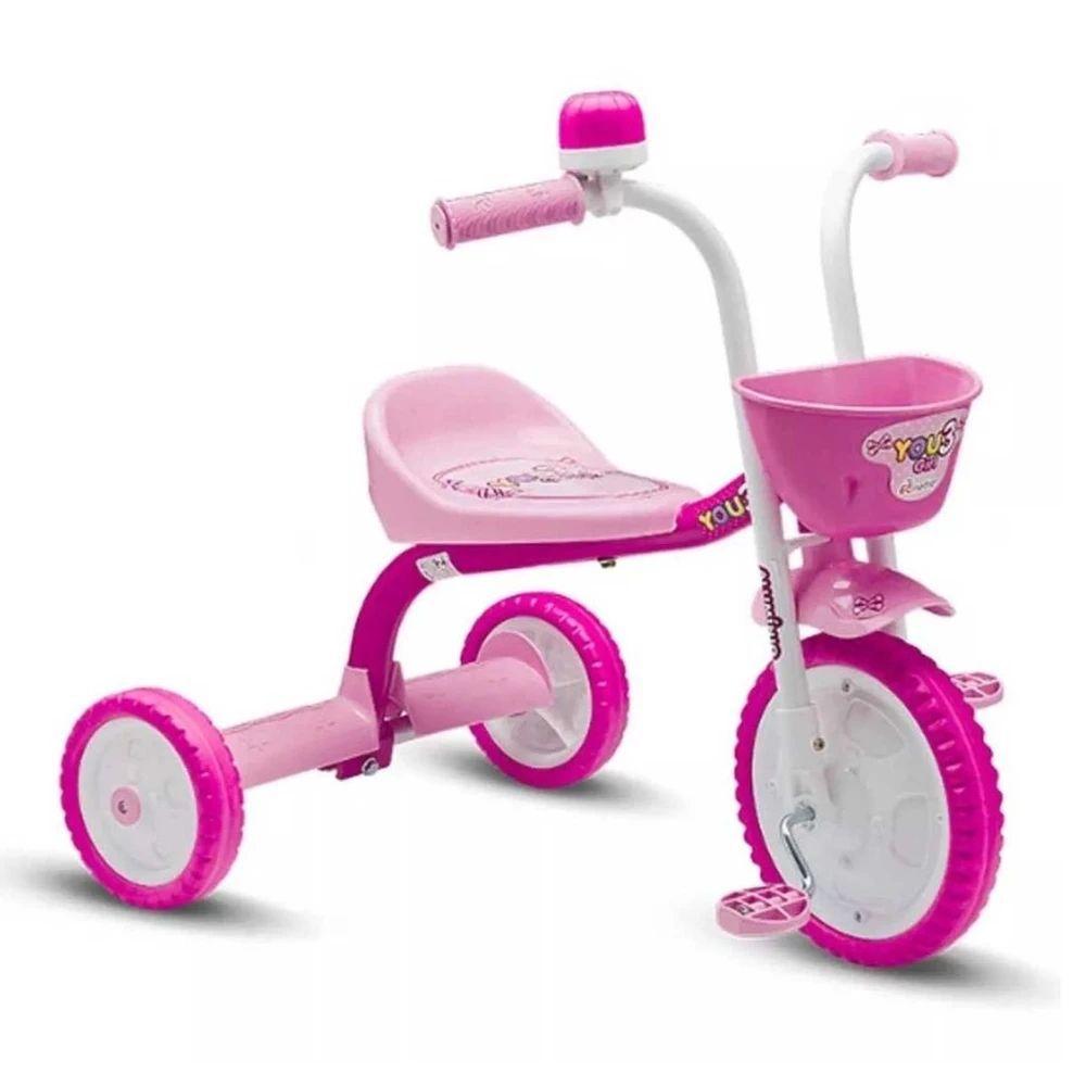 Triciclo Nathor You 3 Girl Color