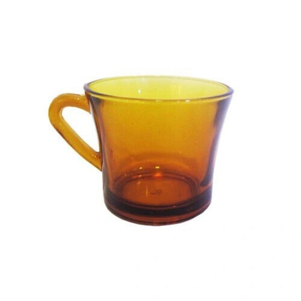 Xícara Vidro Amber 180 Ml Sem Pires 62788 Upp05A