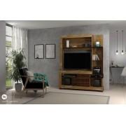 Estante Delize Dorale/Conhaque para TV de até 42 Polegadas - DJ Móveis