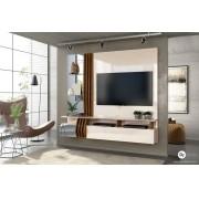 Painel Home Suspenso Bello Off White/Demolição - DJ Móveis