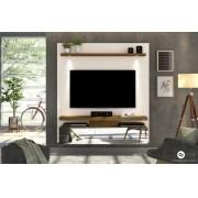 Painel Home Suspenso Luce Off White/Demolição - DJ Móveis