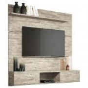 Painel para TV HB Móveis Flat Plus 1.6 Aspen - HB Móveis