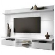 Painel para TV HB Móveis Livin 2.2 Branco - HB Móveis