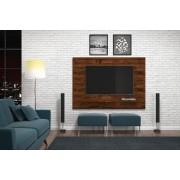 Painel Vitório Rústico Malbec para TV de até 70 polegadas - DJ