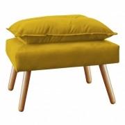 Puff Decorativo Opala Plus Amarelo