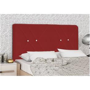 Cabeceira Rubia Solteiro 90 Vermelho