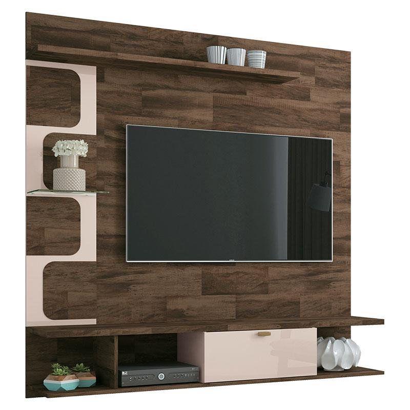 Painel para TV HB Móveis Leblon Deck - HB Móveis