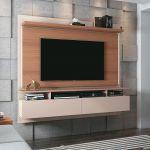 Painel para TV HB Móveis Limit 1.8 Off White Nature - HB Móveis