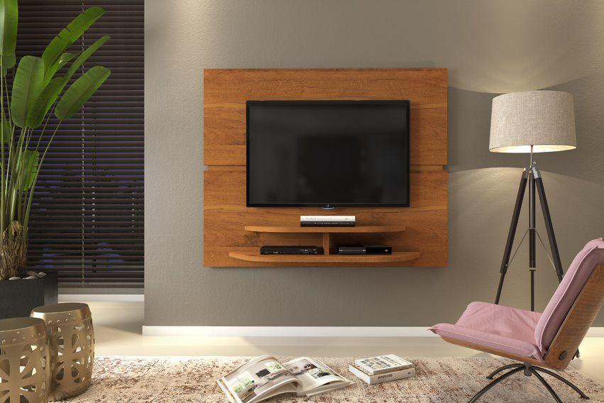 Painel Sala Rústico Terrara para TV até 55 polegadas - DJ