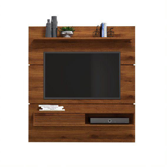 Painel Vitório Rústico Terrara para TV de até 70 polegadas - DJ