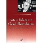 ARTE E BELEZA EM GERD BORNHEIM