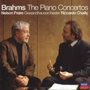 Brahms* - Nelson Freire, Gewandhausorchester*, Riccardo Chailly ‎– The Piano Concertos