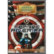 CAPITAO AMERICA - COLEÇAO SUPER HEROIS DO CINEMA (DVD COM 8 EPISODIOS)