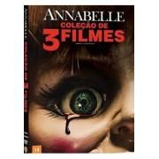 COLEÇÃO ANNABELLE - 3 FILMES