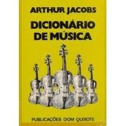 Dicionário de Música (encadernado, mantida capa original)