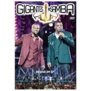 GIGANTES DO SAMBA - AO VIVO EM SP - DVD