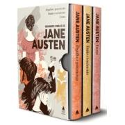 Grandes obras de Jane Austen (box - 3 volumes): Orgulho e preconceito; Razão e sentimento; Emma