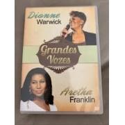 Grandes Vozes - Dionne Warwick e Aretha Franklin DVD