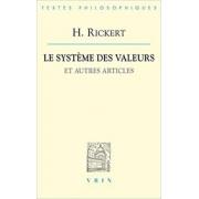 Le système des valeurs et autres articles