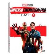 MARVEL STUDIOS UNIVERSO CINEMATOGRÁFICO FASE 1 (QTD: 6) DVD