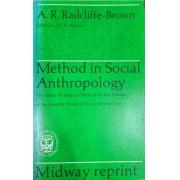 METHOD IN SOCIAL ANTHROPOLOGY