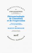 Phénoménologie de l'intuition et de l'expression