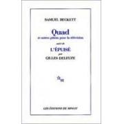 Quad et autres pièces pour la télévision suive de l'épuisé par Gilles Deleuze