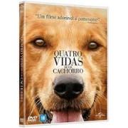 QUATRO VIDAS DE UM CACHORRO DVD