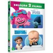 Trolls + O Poderoso Chefinho (2 DVDs) - Dvd Coleção 2 Filmes Dreamworks
