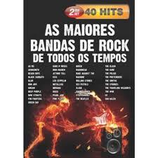 AS MAIORES BANDAS DE ROCK DE TODOS OS TEMPOS 40 HITS - DVD