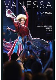 VANESSA DA MATA - (CD+DVD) CAIXINHA DE MÚSICA AO VIVO (DUPLO)