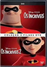 COLEÇÃO INCRÍVEIS 2 FILMES (DUPLO)