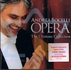 OPERA THE ULTIMATE COLLECTION - ANDREA BOCELLI - CD
