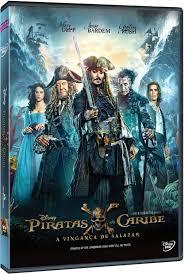 PIRATAS DO CARIBE 5 A VINGANÇA DE SALAZAR - DVD